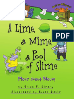 A Lime, A Mime, A Pool of Slime