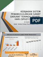 Kebijakan SPGDT Jawa Timur,dr Herlin.ppt
