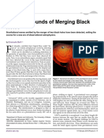 The First Sounds of Merging Black