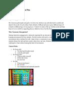 classroom management plan marissaaguilar