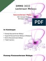 BMMB 3033 Kesusasteraan Melayu