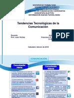 Tendencias Tecnológicas de La Comunicación.