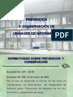 Prevencion y Conservacion de Documentos
