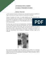 Los Nicaraos Ante La Muerte