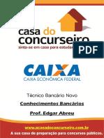 Apostila CEF 2015 - Conhecimentos Bancários - Edgar Abreu