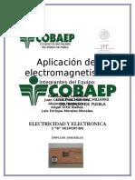 Aplicación Del Electromagnetismo - Copia