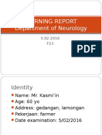 Morning report neurology