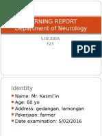 Morning report neurology
