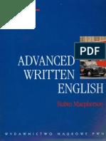 Advanced Written English