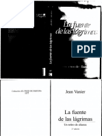 La Fuente de Las Lagrimas - Jean Vanier