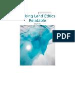 land ethics - making land ethics relatable