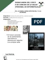 Derecho Al Honor La Honra Buena