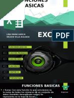 Formulas Basicas de Excel y Graficos