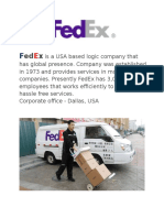 FedEx Corporation Final