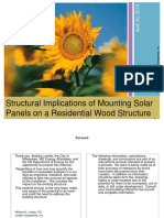 Structural Implications of Mounting Solar Panels - Bill_Lindau