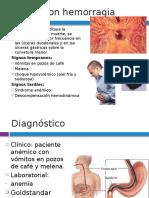 Úlcera Con Hemorragia
