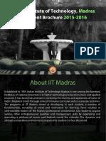 Placement Brochure IITM
