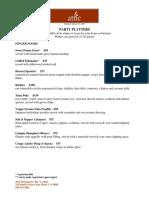 PartyPlatter.Menu2015