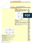 Deflection of Truss by Unit Load Method
