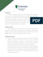 Programa Lengua Espaola 7mo