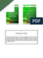 Mision Vision Politica Valores y Contrato de Aprendizaje Conalepochoa
