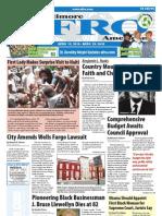 Baltimore Afro-American Newspaper, April 17, 2010