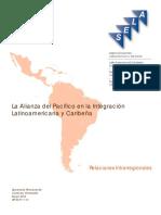 La Alianza Del Pacífico en La Integración Latinoamericana y Caribeña- SELA