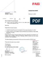 Financial Results, Form A, Auditors Report for December 31, 2015 [Result]