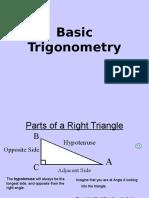 Basic Trigonometry 1