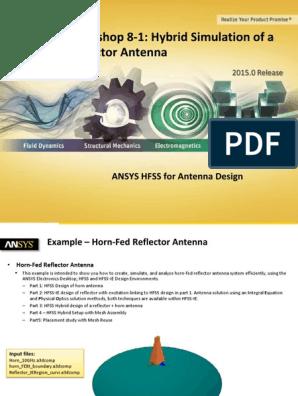 Ansys Hfss Antenna w08 1 Hybrid Fem-ie   Antenna (Radio