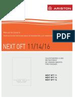 Manual Instalacion y Uso NEXT OFT