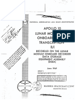 Apollo 10 Lunar orbit transcripts