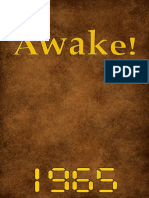 Awake! - 1965 issues