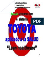 Toyota Lean Healthcare