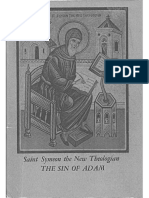 the Sin of Adam and Our Redemption Seven Homilies by Saint Symeon the New Theologian