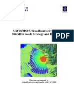 UMTS HSPA Broadband Services