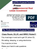 analyzingacommercialrealestateinvestment-111029204718-phpapp02