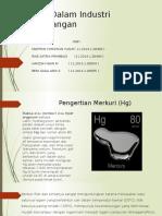 KIMIA ANALITIK Merkuri Dalam Industri Pertambangan.pptx
