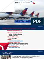 800 325 8224 Delta Airlines Customer Service Helpline Phone Number