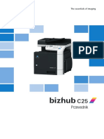 bizhubC25 Instrukcja Obsługi