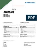 service manul FIAT STILO 1.4