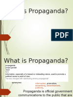 what is propaganda