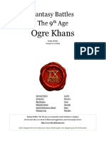 The Ninth Age Ogre Khans 0 11 0