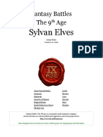 The Ninth Age Sylvan Elves 0 11 1