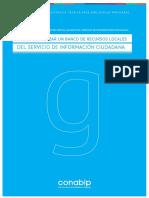 CONABIP-guia Para Armar Un Banco de Recursos Locales Del Servicio de Informacion Ciudadana
