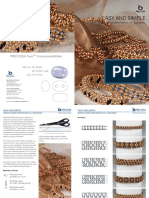 Project Bracelets Made From PRECIOSA Twin Seed Beads