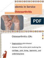 Drug Used in Osteoarthritis
