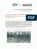 REGISTRO de Solicitud de declaración BIC de las Cocheras de Cuatro Caminos (Comunidad de Madrid)