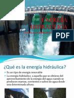 Energía Hidrálulica