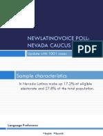 NewLatinoVoice Nevada GOP Poll